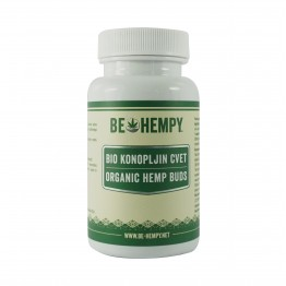 BE HEMPY | Organic Hemp Buds 60 κάψουλες (32gr)