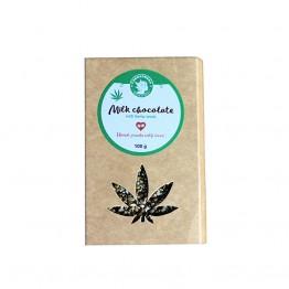 Cannadorra | Σοκολάτα Γάλακτος με Σπόρους Κάνναβης 100gr