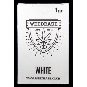 Weedbase   Ανθός White CBD ± 14% 1gr