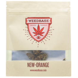 Weedbase | Ανθός New Orange CBD ± 16%  1gr