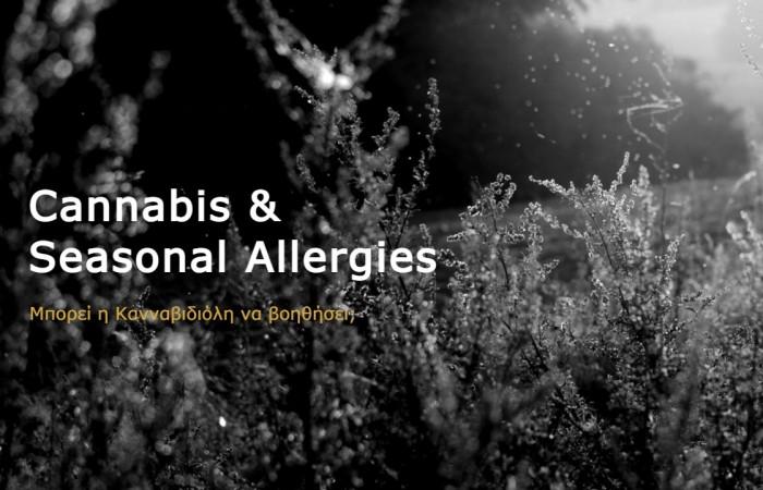 Κανναβιδιόλη & Εποχική Αλλεργία
