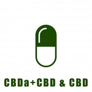Κάψουλες CBD & CBD+CBDa