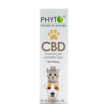 Phyto+ | Σταγόνες Ελαίου CBD για κατοικίδια 3% – 300mg Raw (10ml)