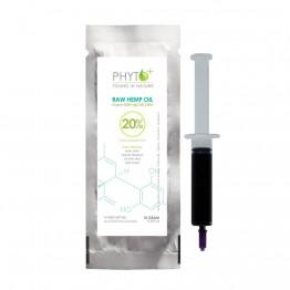 Phyto+    Πάστα CBD 20% - 2000mg Raw Oil (10gr)