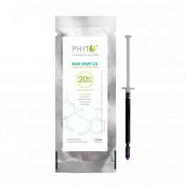 Phyto+   Πάστα CBD Oil 20% - 200mg Raw (1gr)