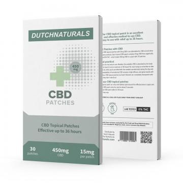 Dutch Natural Healing | CBD Patches - Έμπλαστρα με 450mg CBD(15mg CBD/Τεμάχιο) - 30ΤΜΧ