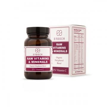 Endoca | Βιολογικές Βιταμίνες & Ιχνοστοιχεία σε Σκόνη 86gr