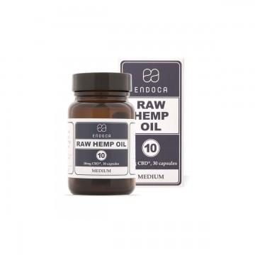 Endoca | Raw Κάψουλες 300mg CBD+CBDa (3%)  30ΤΜΧ